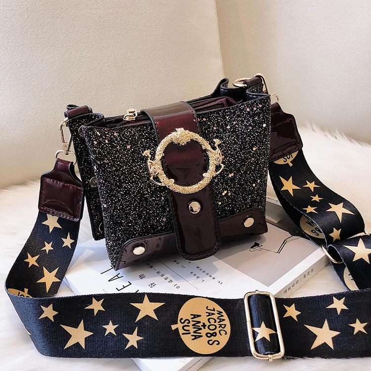 Women Patchwork Handbag Crossbody Bag Soft Leather Square Casual Ladies Chain Shoulder Girl Chain Messenger Satchel Bag louis 13