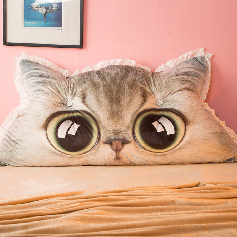 Cojines de respaldo para la cama de los niños almohadas decorativas para la cama Cute Lounge Cute cojín Tuinstoel kusens almohada sofá 50B0278