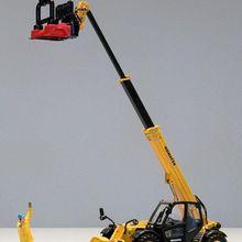 UH8002 1:50 KOMATSU WH613 TELEHANDLER с вилками для поддонов литая игрушка модель для украшения, сбора, подарка, без коробки посылка