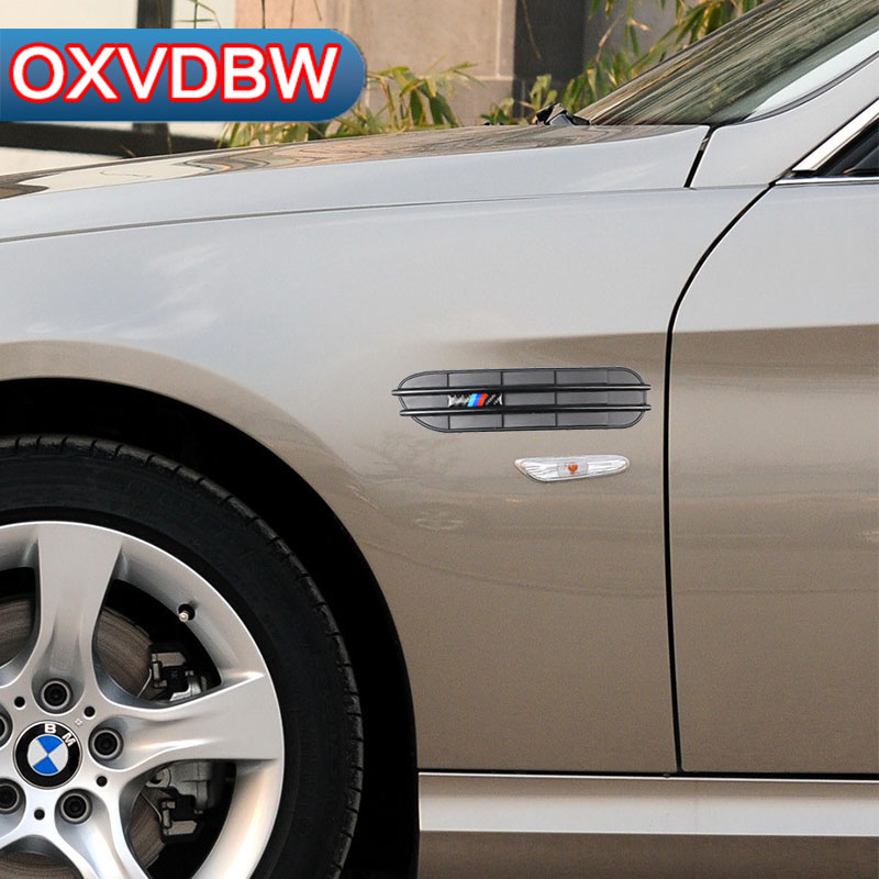 Car Side Fender Stickers And Decals Car Body Decorative For bmw e90 e60 f30 f10 f07 f34 x1 x3 x4 x5 e70 x6 M2 M3 M5 Car Styling