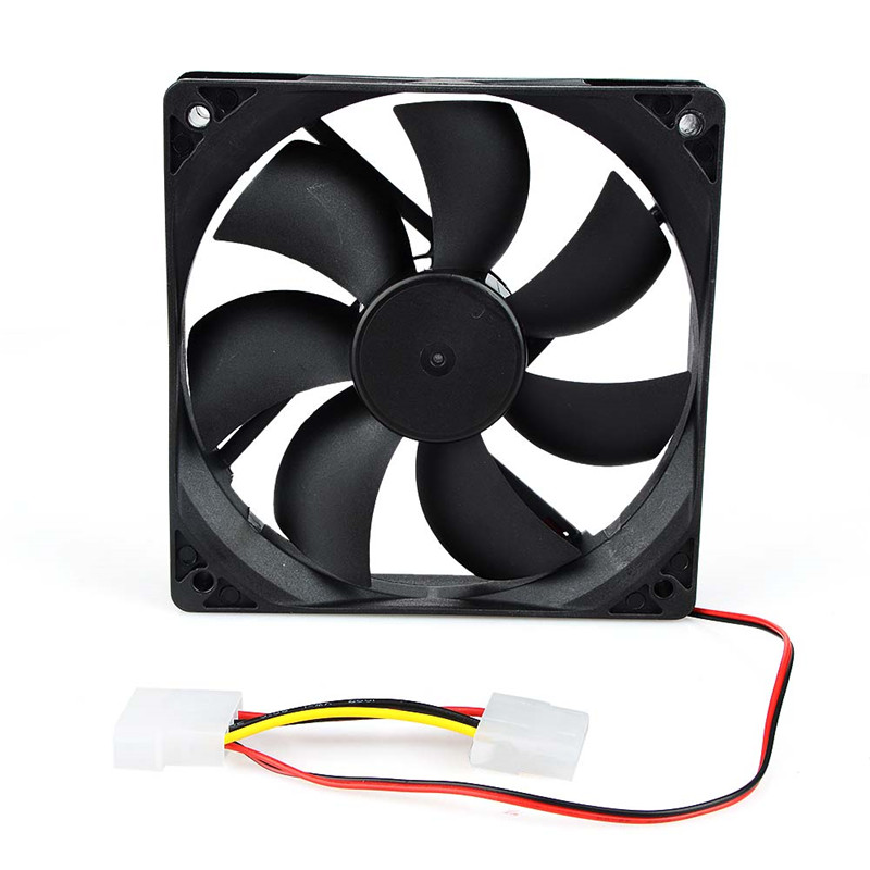 Portable Computer 120x120mm Fan Cooler 12V 12CM 120MM PC CPU Cooling Cooler Fan For Video Card