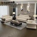 2019 купить из Китая напрямую с фабрики оптом Valencia Свадебные итальянские дешевые кожаные картины дивана стул набор дизайнов F57A