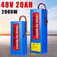 48 V Батарея 48 V 20AH 2000 Вт Электрический велосипедный литиевый Аккумуляторный блок