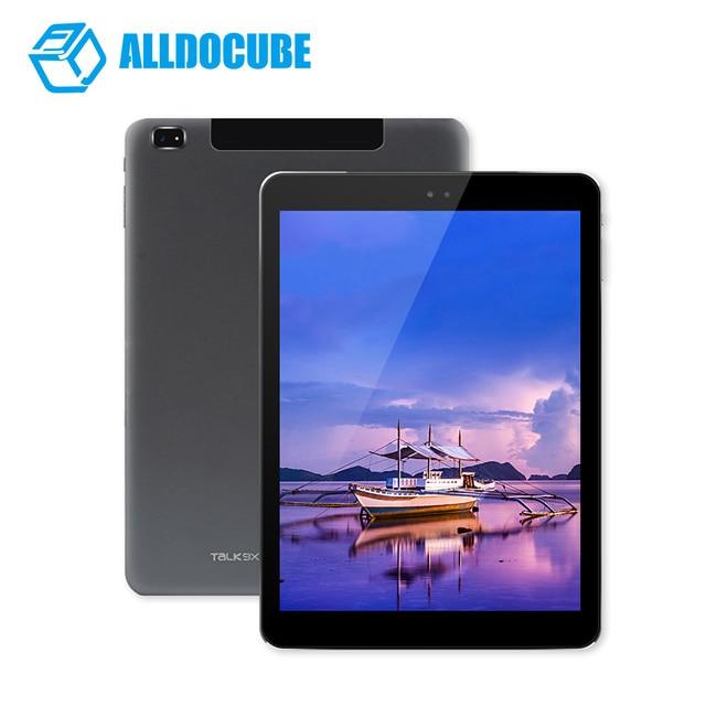 9,7 zoll 2048*1536 ALLDOCUBE Talk9X sprechen 9X U65GT Retina Octa-core MT8392 3g Tablet PC 2 gb 32 gb Android4.4 GPS 10000 mah