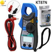 KT87N Multimetro Digitale Amper Clamp Meter Corrente Morsetto Pinze AC DC di Corrente Tester di Tensione pinza amperimetrica digitale