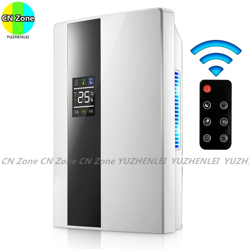 Remote Control Intelligent Dehumidifiers Continuous Drainage Purify Air Dryer Machine Moisture Absorb Home Household Appliances