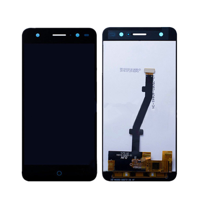 Für zte blade v7 lite lcd display + touch screen digitizer assembly ersatz für zte v7 lite telefon freies verschiffen