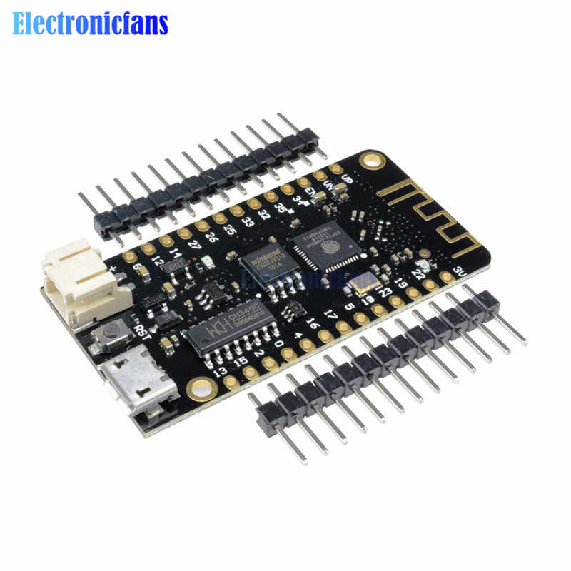 Wifi Bluetooth Development Board Antenna ESP32 ESP-32 REV1 CH340 CH340G MicroPython Micro USB Lithium Battery Interface