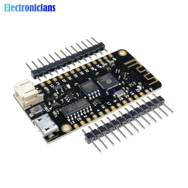 Wifi Bluetooth Development Board Antenne ESP32 ESP-32 REV1 CH340 CH340G MicroPython Micro USB Lithium Batterij Interface