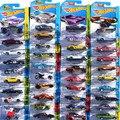 1: 64 4 Unids Rápido y Furioso Hot Wheels Diecaste Aleación Deportes coche de Metal Regalos Juguetes Para Niños Kids Niños Batalla Envío gratis