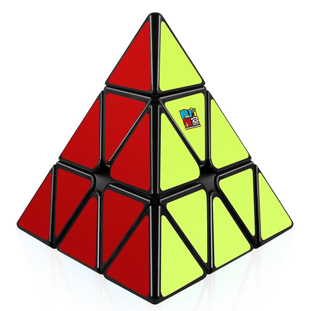Cube de vitesse pyramide d-fantix Moyu Mofang Jiaoshi, Puzzle Triangle Cube 3x3Cube de vitesse pyramide d-fantix Moyu Mofang Jiaoshi, Puzzle Triangle Cube 3x3