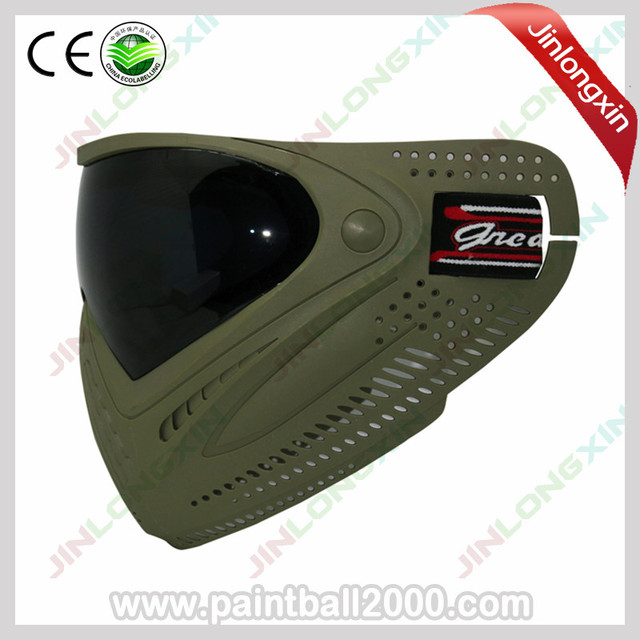 SPUNKY Army Military Airsoft Mask Paintball Mask with Dye I4 Thermal Lens