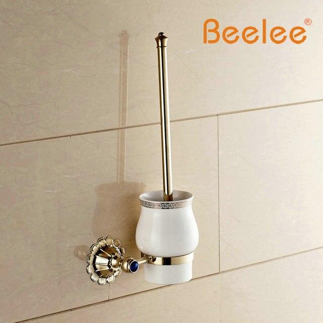 Beelee BA7604G Bathroom Lavatory Toilet Brush with Holder Wall Mount ...