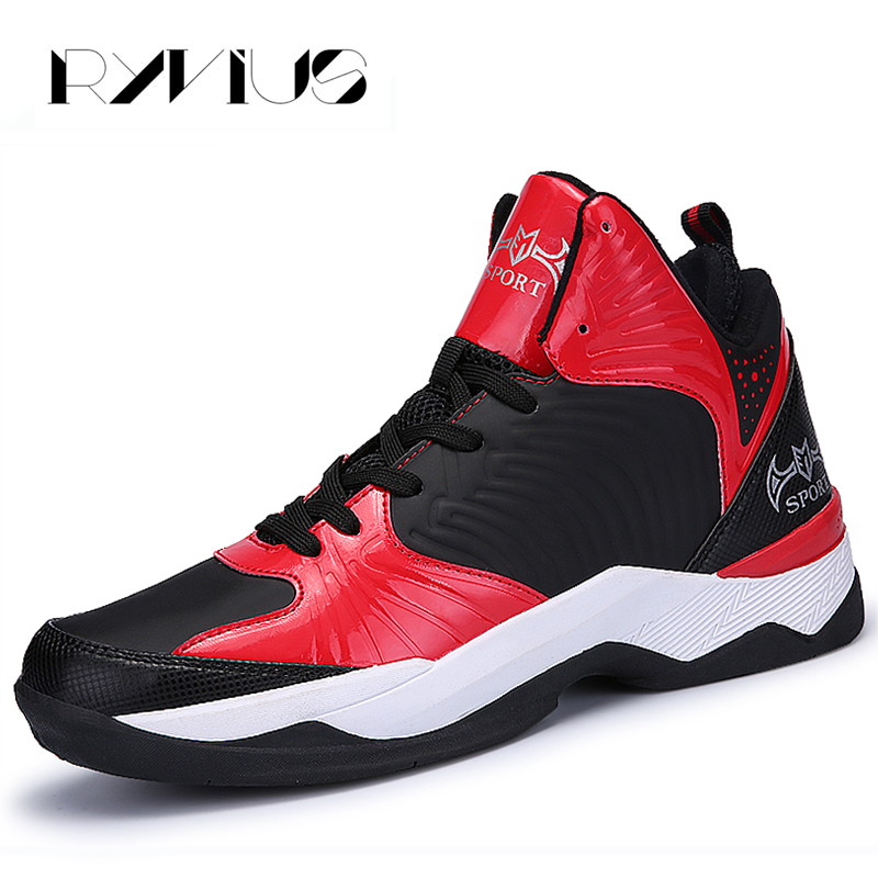 Ryvius Sports Basketball Shoes For Men High Top Cushion Sneakers Sports Walking Trainers Athletic Breathable Basket Femme Hombre