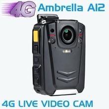 HD 1080 P многофункциональный Для Ношения на Теле, ИК-Камера Ночного Видения Поддержка 4 Г WI-FI GPS с Ambarella A12 чип