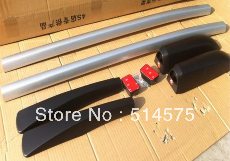 Hot! Tracking! For Nissan Qashqai 2007 2008 2009 2010 2011 2012  2013 Aluminum Roof Racks & Boxes Rails Bars OEM Style factory style car roof rack rails bars black for toyota rav4 2006 2007 2008 2009 2010 2011 2012