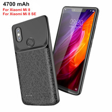 Shock Proof Battery  Case for External Charger Cover Standby Mobile Power Pack for Xiaomi Mi 8 SE Charging Battery Case