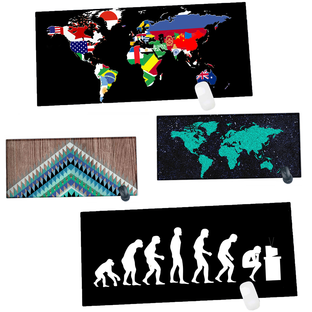 Rubber Edge Locking 900 X 400 Mm Mouse Pad Desk Mat For Office Work CS GO Overwatch Game MousePad Keyboard Mat Gaming Mousepad