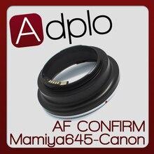 2nd Adjustable AF Confirm Adapter Suit For Mamiya 645 Lens To Canon E0S EF 60D 60Da 5D 7D 550D 50D 40D 600D 500D 5D ll Camera