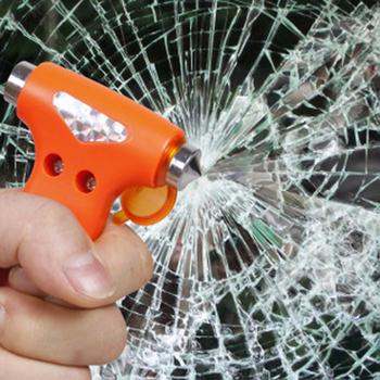 CHIZIYO pasów bezpieczeństwa Cutter złamany młotek do zbicia szyby awaryjnego ucieczka narzędzie samochodów ratunkowe młotek bezpieczeństwa młotek sprzęt ratunkowy tanie i dobre opinie Holowania liny Baterii Jazdy Firewire Skrzynka narzędziowa Torba 0 12 Safety Hammer