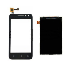 "For Alcatel One Touch Pixi 4 OT4034 4034D 4034A 4034E OT-4034 4.0"" Black Touch Screen+LCD Display Touch Panel Digiziter"