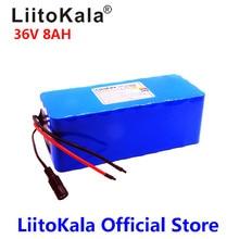 2018 LiitoKala 36 В в 6ah 8ah 18650 Вт 500 литиевая батарея 36 В в 8AH Электрический велосипед батарея с ПВХ чехол для электрического велосипеда