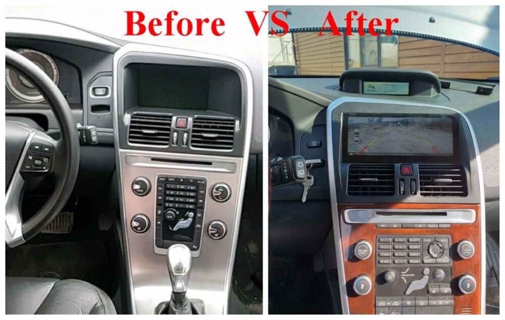 8.8 Voiture Lecteur Multimédia Android 6.0 pour VOLVO XC60 2009-2012 GPS Navigation Radio WiFi Smartphone BT non dvd lecteur Tête unité