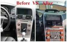 """8,8 """"reproductor Multimedia para coche Android 6,0 para VOLVO XC60 2009-2012 navegación GPS Radio WiFi Smartphone BT no reproductor de dvd Unidad Principal"""