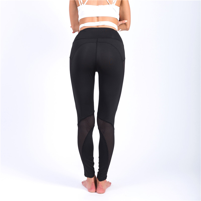 Jinjin QC Women Leggings Net Yarn Women Leggins Pants Capri Breathable Mesh Sexy Female Leggings Jeggings Sexy Pants in Leggings from Women 39 s Clothing