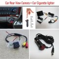 For Audi A6 / S6 / A7 / S7 2011~2015 - Car Rear View Camera + Car Cigarette lighter Power Cable / Back Up Parking System
