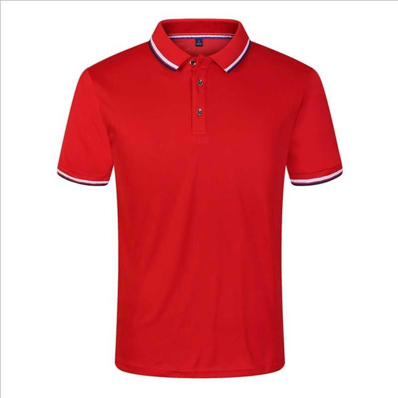 Camisa polo de verão masculina algodão manga curta respirável anti-pilling novo 2019 sólido marca polos topos t hombre plus size S-3XL