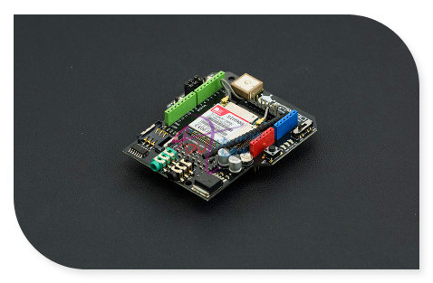 DFRobot GPS/GPRS/GSM Shield/Module V3.0, 6~12V Sim908 chip Quad-band GSM/GPRS engine + GPS navigation Compatible with Arduino