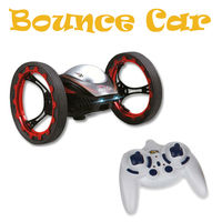 RC Car Jumping Sumo Bounce Car Hot Sale New Arrival HappyCow 777 359 4CH 2.4GHz Jumping Stunter Sumo Remote Control Car FSWB