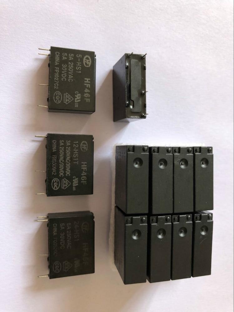 10 PCS HF46F-12-HS1 DIP-4 POWER RELAY