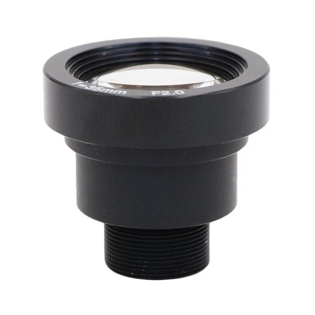 Lente de 35mm de 2,0 megapíxeles 7,2 grado MTV M12 x 0,5 con lente infrarroja de visión nocturna para cámara de seguridad cctv