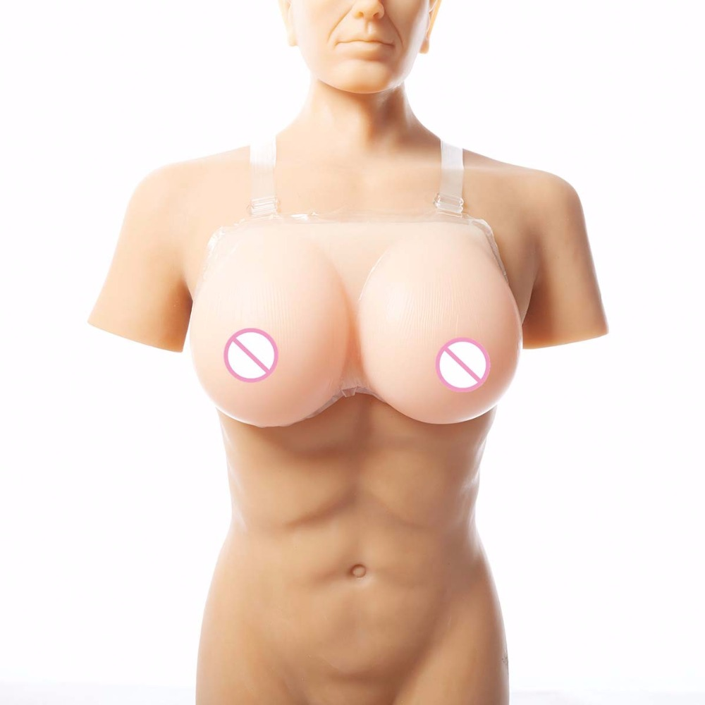 500g 1pair 34B Cup crossdresser Silicone Breast forms Mastectomy Artificial Silicone Fake Breast Boobs Tits For Transvestites 800g pair sexy woman artificial breast artificial boobs crossdresser silicone breast forms c cup size fake breast