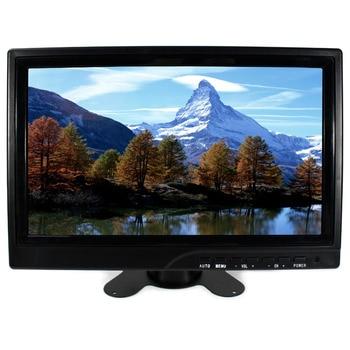 "10.1"" IPS Lcd monitor 1366x768 16:9 HDMI VGA 2AV USB BNC LCD Monitor for raspberry Xbox360"