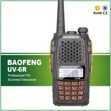 Brand New BaoFeng UV6R VHF 136-174MHz UHF 400-520MHZ Dual-Band HAM FM Two-Way Radio Walkie Talkies