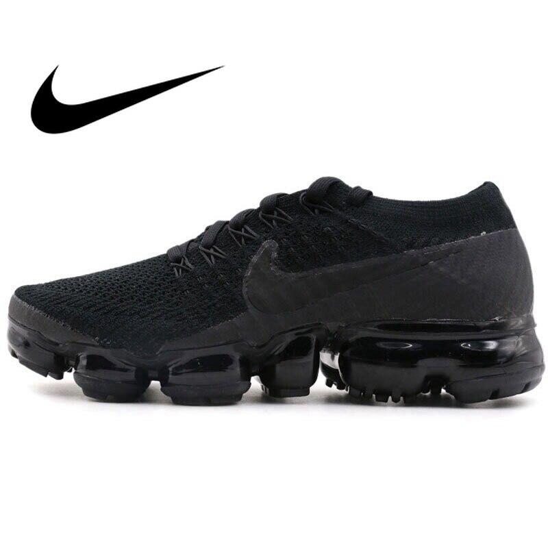 D'origine 2018 NIKE AIR VAPORMAX FLYKNIT Chaussures de Course des Femmes Respirant Rembourrage Jogging Sport Durable Sneakers 849557