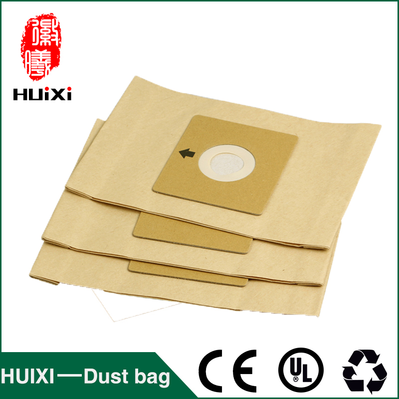 Universal vacuum cleaner paper dust bags vacuum cleaner change bags with high quality for HR6325 HR6326 HR6328 etc 18 pcs dust paper bags and vacuum cleaner filter change bags with high quality of vacuum cleaner parts for vk130 vk131 etc