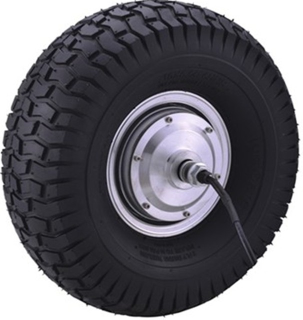 15 Inch 48v Electric Wheel Hub Motor Scooter Brushelss
