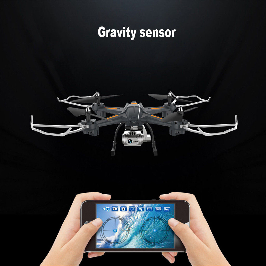 Image 4 - 2019 Portable Suitable Charging Global Drone S5 5.8G 1080P WiFi FPV Camera RC Quadcopter Drone Aircraft Hot   Helicopter-in RC Helicopters from Toys & Hobbies