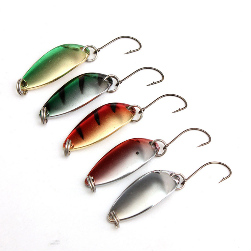 5Pcs Fishing Lure Deep Swimming 3g Hard Bait Available Tight Wobble Slow Floating Fishing Tackle