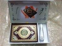 (10 TEILE/LOS) beste geschenk islamischen Klar und großen stimme quran las feder M9 mit 6 bücher wort für wort stimme