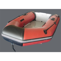 PVC Inflatable Boat Dinghy Fishing Rowing Boat For Drifting Sufing