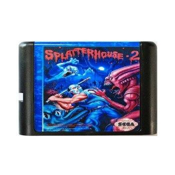 Splatter House 2 - Sega Mega Drive For SEGA Genesis