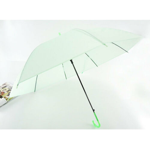 Image 4 - 2019 New Colorful Transparent Automatic Rain Umbrella Dome Wedding Party Favor Waterproof-in Umbrellas from Home & Garden
