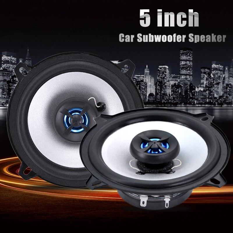 1 Pair 5 inch LB-PS1502T Car Subwoofer Speaker Audio Universal Car kits Perfect Sound Automotive Car HIFI styling