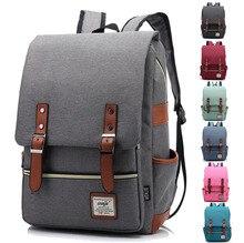 14 15 15.6 인치 옥스포드 컴퓨터 노트북 노트북 배낭 가방 남성 여성 학생을위한 학교 배낭