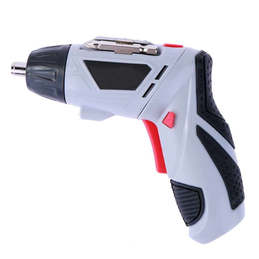 Multifunctional Electric Screwdriver 4.8V Rechargeable Battery Screwdriver Electric Drill Set Tools Hex Type Bit Holder EU Plug